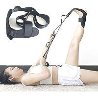 Fdrirect Cinto de ligamento de tornozelo, elástico auxiliar de ioga, faixa elástica de algodão de poliéster para perna…