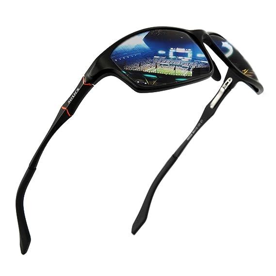 SOXICK Gafas de sol polarizadas para hombre protección UV400 gafas de sol de conducción de aluminio