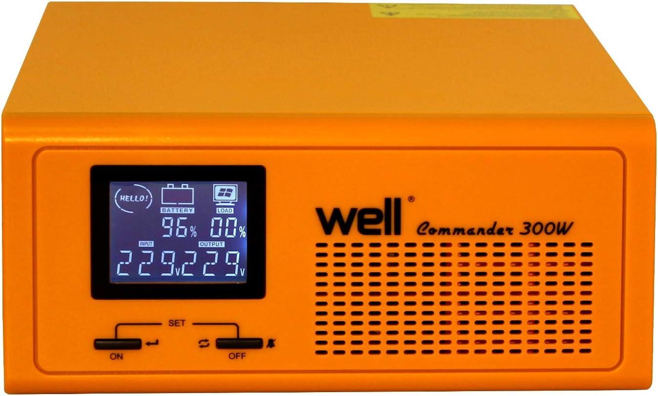 USV para centrales térmicas Commander 230 V/300 W.