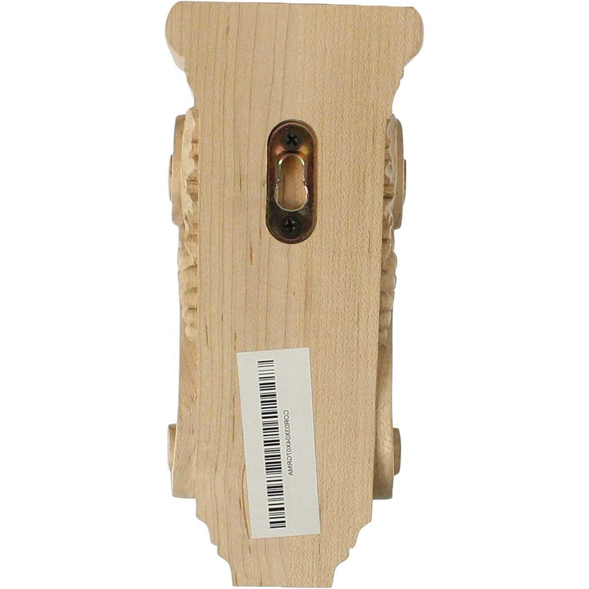 Walnut Ekena Millwork CORW05X07X14GRWA 5 W X 7 D X 14 H Large Grape Corbel