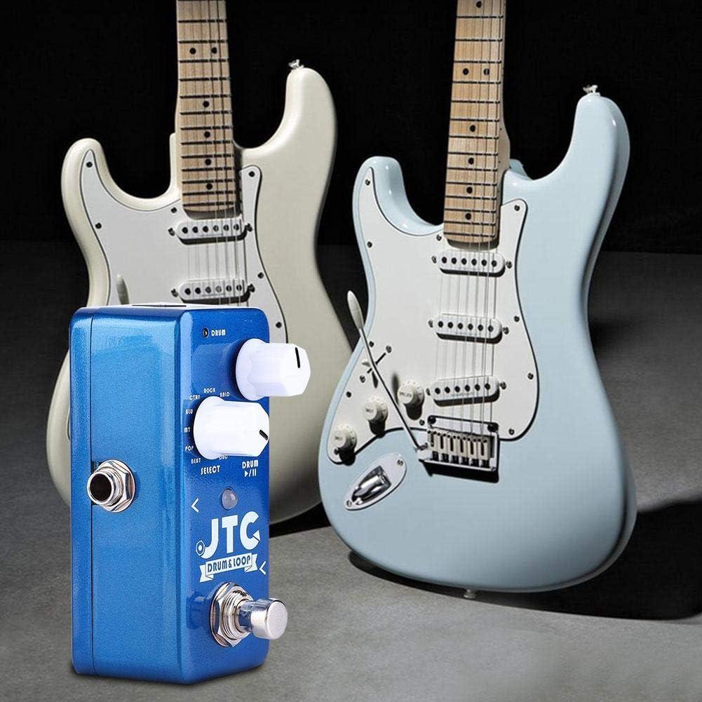 Bnineteenteam Pequeño Pedal de Efecto de Guitarra eléctrica Looper ...