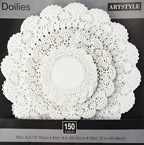 Paper Dollies (Art Style Doily Combo Variety Pack, 150)