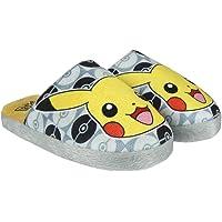 Pokémon 2300-2818 Pantofole, Poliestere, Bambini