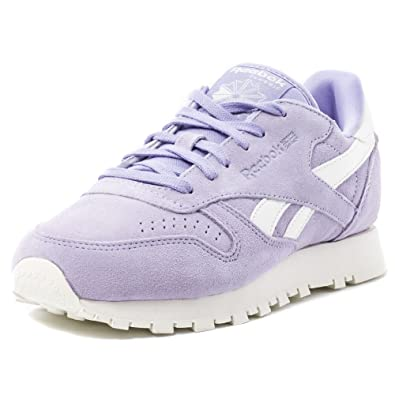 6200fa27967 Reebok CL Leather Suede Womens Trainers  Amazon.co.uk  Shoes   Bags