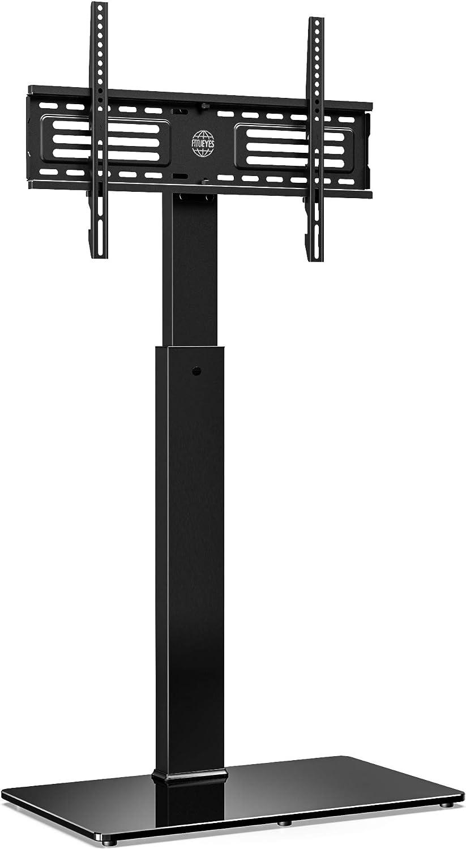 FITUEYES Soporte Giratorio de Suelo para TV de 32-65 Pulgadas Altura Ajustable Soporte de Televisión LCD LED OLED Plasma Plano Curvo TT107501MB: Amazon.es: Electrónica