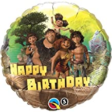 "Single Source Party Supplies - 18"" The Croods Birthday Mylar Foil Balloon"