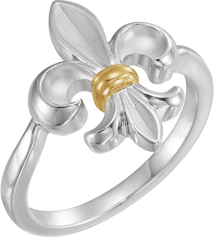 Size 6 Bonyak Jewelry Sterling Silver Claddagh Ring