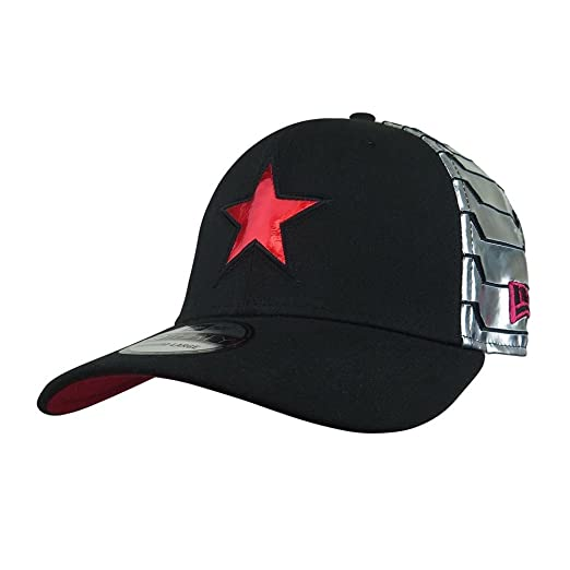 Winter Soldier Armor 39Thirty Fitted Hat at Amazon Men s Clothing store  ca15a0c24dda