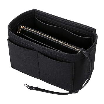 2In1 Bag Purse Tote Insert With Waterproof Pocket Handbag Organizer