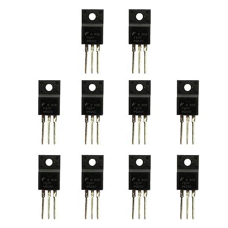 FLAMEER Transistor De Poder Del Amplificador De Poder De 10 PC Para El Poder Del Interruptor