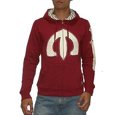 047fb6481e49 Mens Oakley Warm Surf   Skate Zip-Up Hoodie Sweatshirt Jacket - Red (Size