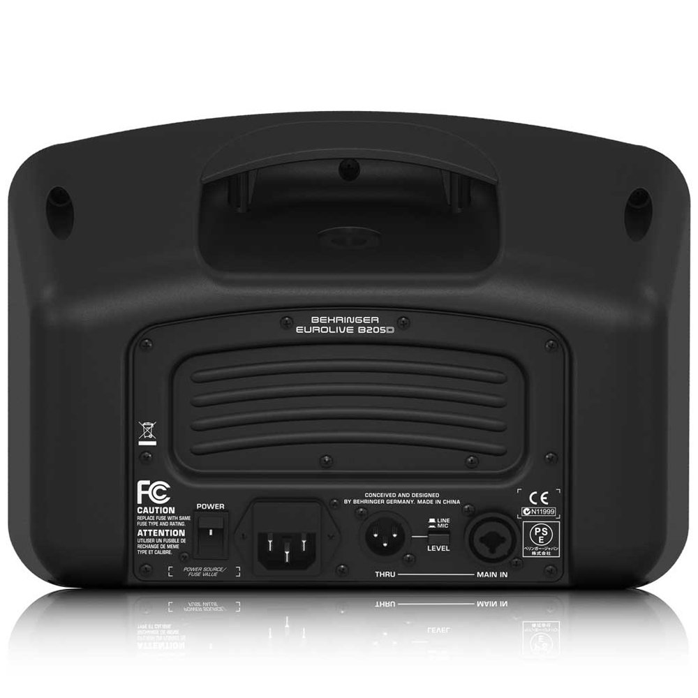 Behringer Eurolive B205D Ultra-Compact 150-Watt PA/Monitor Speaker System by Behringer (Image #2)
