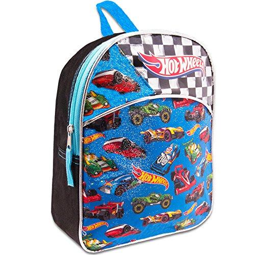 Hot Wheels Toddler Preschool Backpack 11 inch Mini Backpack