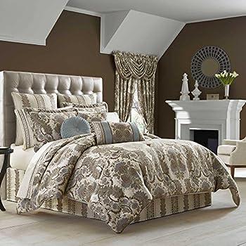 Amazon Com J Queen New York Miranda Comforter Set In Spa