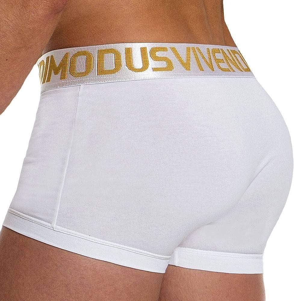 Modus Vivendi Handcrafted Metallic Brief White