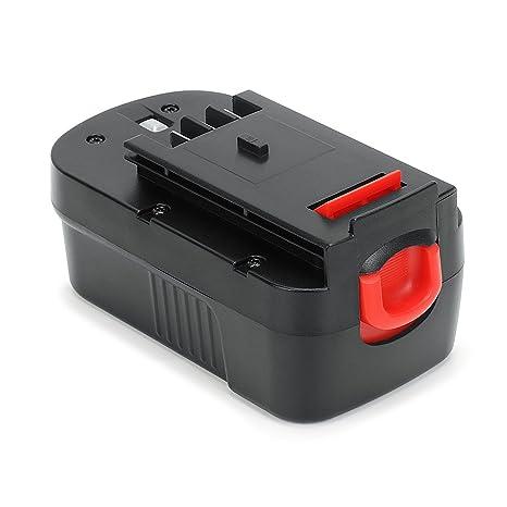 POWERAXIS 18V 3.0Ah Ni-MH Atornillador Batería de Repuesto para Black & Decker 244760