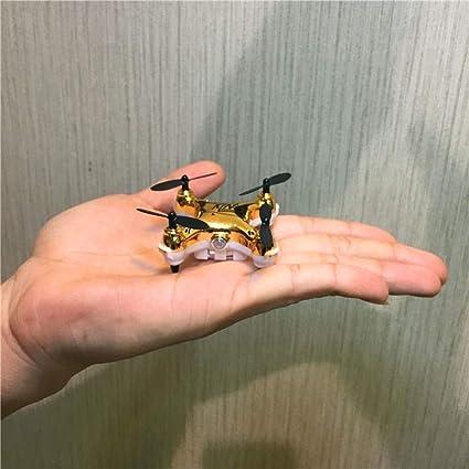 Mini Drone de Bolsillo Modo sin Cabeza 2.4Ghz Quadcopter Nano LED ...