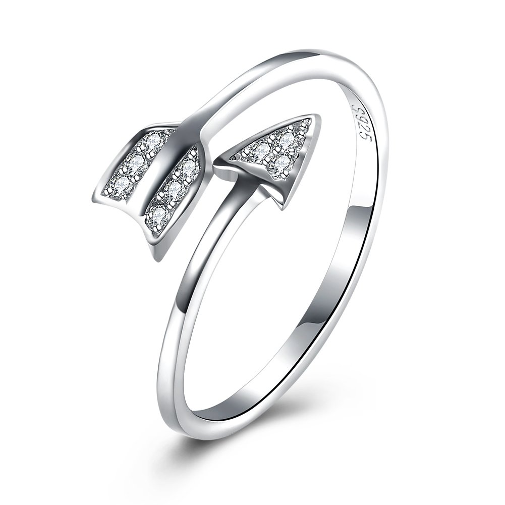 Arrow Ring, Graduation Ring, Inspirational Ring, Travel Ring Toe Ring