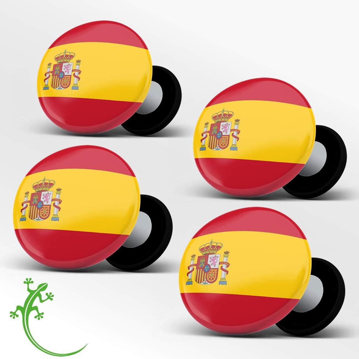 RaceBibUp Portadorsales magnéticos para la fijación del número de Carrera Ciclismo (Bandera española): Amazon.es: Deportes y aire libre