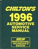 Domestic Auto Service Manual, 1992-96, Chilton Automotive Editorial Staff, 0801987261