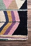 "nuLOOM Ofelia Hand Tufted Wool Runner Rug, 2' 6"" x"