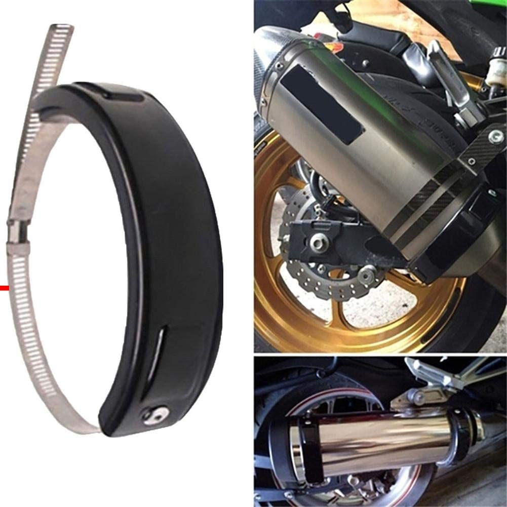 Universal Motorcycle Modified Exhaust Pipe Anti-Drop Ring Suitable for Exhaust Pipe Diameter 100-160mm