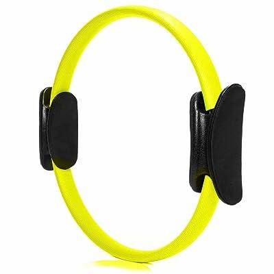 Anneau de pilates »Loop« de #DoYourFitness / idéal pour exercices efficace de pilates la réeducation entraînement musculaire ciblé du haut du corps des bras et des jambes / Pilates Ring
