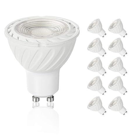 SSendless Bombilla LED GU10, bombillas de foco 7W (lámpara ...
