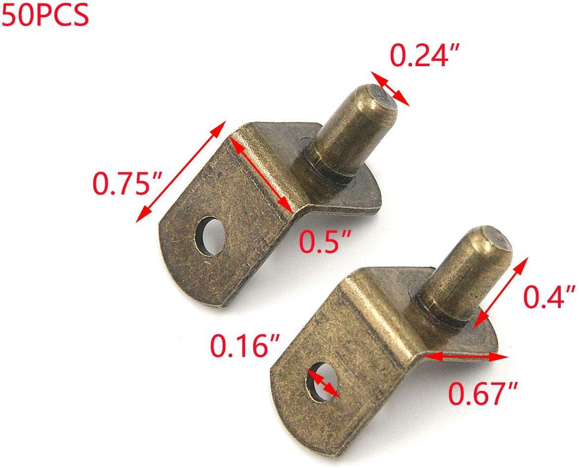 Pegs & Pins Tools & Home Improvement Tulead 50PCS Bronze