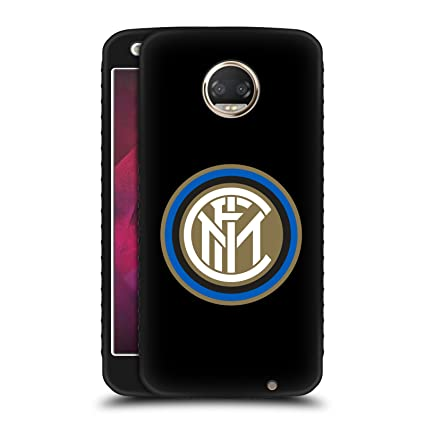 Official Inter Milan Badge Various Designs Black Armour Lite Case For  Motorola Moto Z2 Play