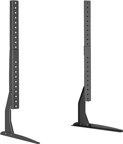 BONTEC Universal Soporte para TV, Pedestal de TV para Television LCD LED Plasma Plano 22-65 Pulgadas, Peanas para TV Carga Máx. 50 kg: Amazon.es: Electrónica