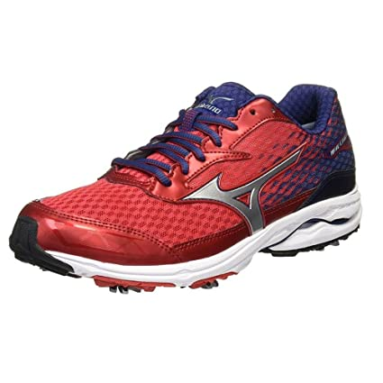 8691715102e7 Image Unavailable. Image not available for. Colour: Mizuno 2017 Wave Cadence  Spiked Men's Golf Shoes ...