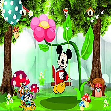 Generic Cartoons 3d Wallpaper Available In All Size Special For Kids