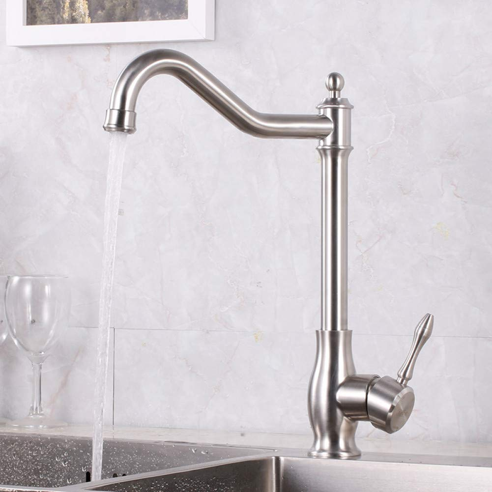 F YHSGY Kitchen Taps Classical Design Nice Kitchen Faucet Vegetable Sink Water Tap Heavy Weight