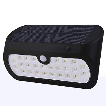 Luces de Seguridad con Sensor de Movimiento. 26 LED Super Brillante Blanco Gran Angular 120