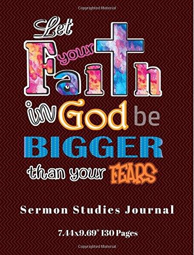 "Download Sermon Studies Journal: Sermon Notebook Journal For Ladies, Sermon Journal For Men, Sermon Journal for Kids, Sermon Journal For Teens, Sermon Note ... Your Features Cover(7_44x9_69"" 130 pages) pdf epub"