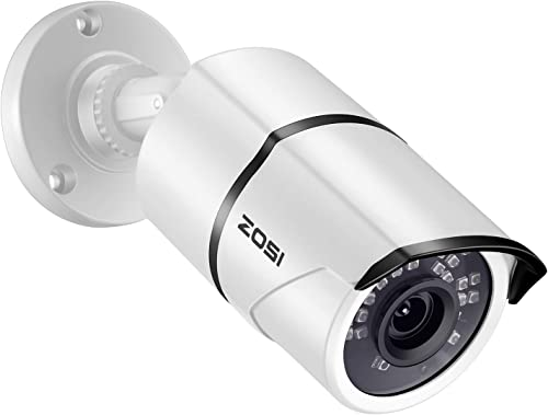 ZOSI 1080P POE Security IP Camera – 2.0MP Waterproof Bullet Camera with 100ft Night Vision for Outdoor Indoor Power Over Ethernet Surveillance System