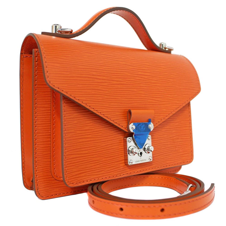 LOUIS VUITTON(ルイヴィトン) エピ モンソーBB 2way ショルダーバッグ M40784 オレンジ シルバー金具 斜め掛け ショルダーバッグ ミニ ハンドバッグ鞄(中古) B074RD75RL