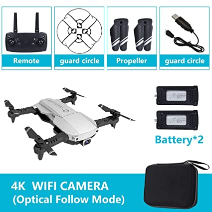 RONSHIN Drone x Pro 5G Selfie WiFi FPV con cámara Dual 4K HD RC ...