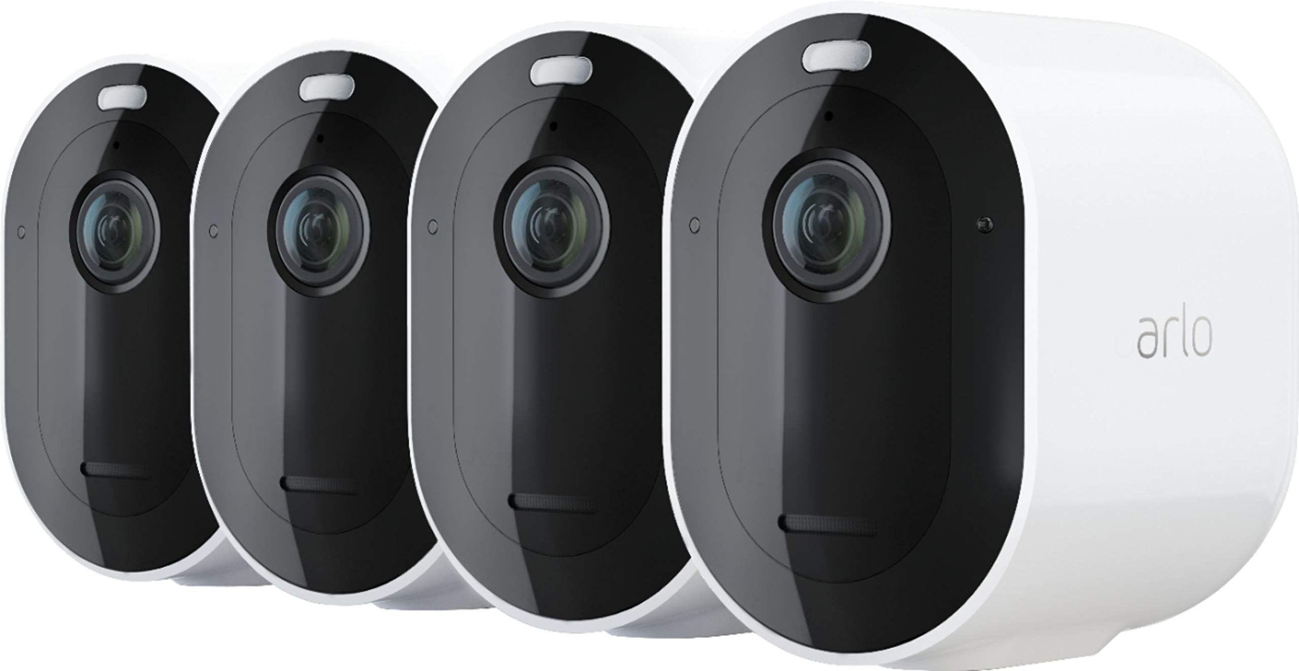 Pro 3 4-Camera Indoor/Outdoor Wire-Free 2K HDR Security Camera System by Arlo Technologies, Inc