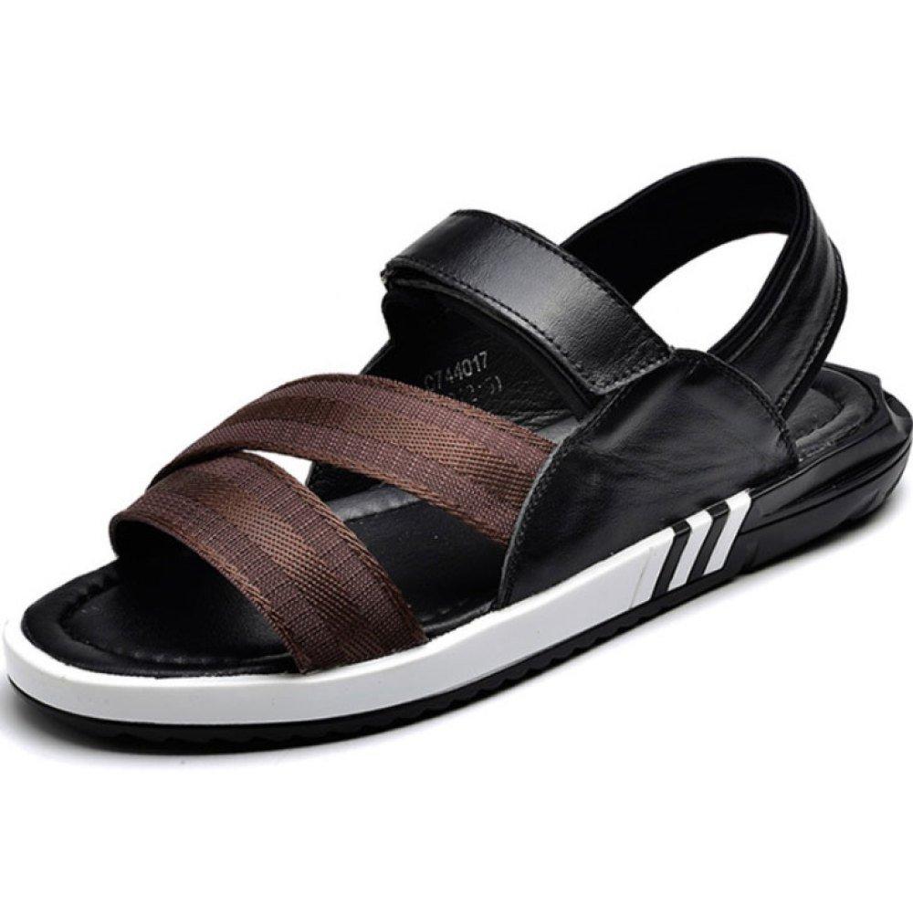 Sandalias De Los Hombres Zapatillas Impermeables Respirables De Verano Beach Shoes 40 EU|Black