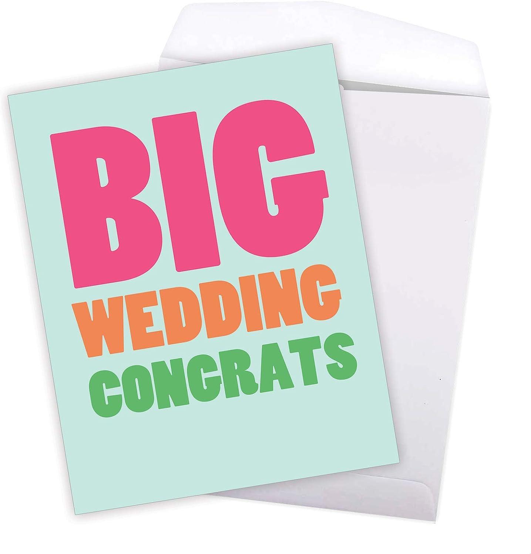 Wedding Card \u2013 Wedding Congratulations Card \u2013 Wedding Wishes \u2013 Wedding Congrats Card \u2013 Wedding \u2013 Congratulations Card Marriage Card