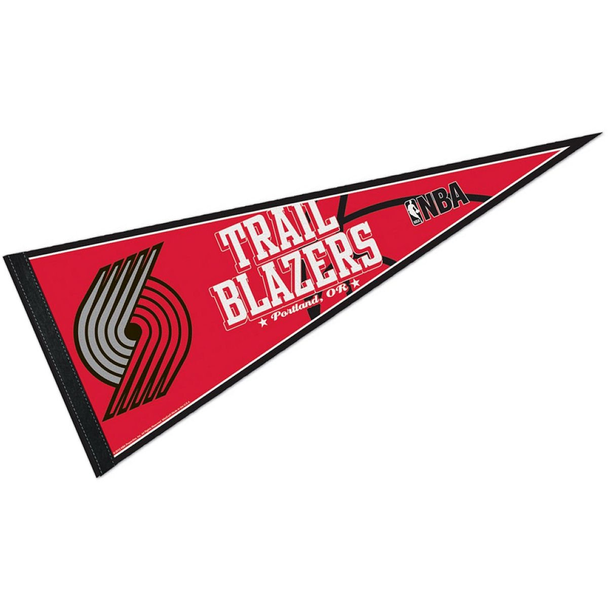WinCraft NBA Portland Trail Blazers WCR63845512 Carded Classic Pennant, 12'' x 30''