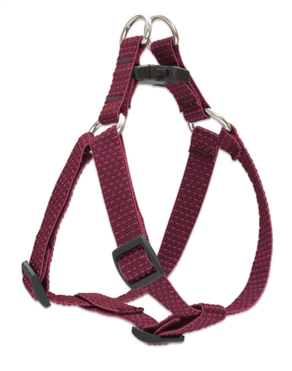 LupinePet Eco 3/4'' Berry 15-21'' Step In Harness for Small Dogs