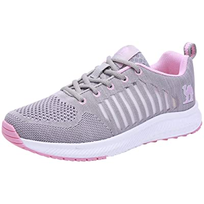 CAMEL CROWN Trail Running Shoes Women Breathable Mesh Tennis Shoes Super Lightweight Comfortable Walking Sneakers Casual Non-Slip Athletic | Road Running