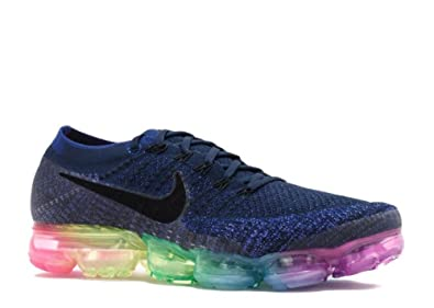 buy online d104d bc0f4 Nike Air Vapormax Flyknit Be True - Deep Royal Blue/White-Concord Trainer:  Amazon.co.uk: Shoes & Bags