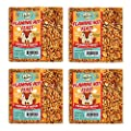 Mr. Bird 4-Pack Flaming Hot Feast Small Wild Bird Seed Cake 4 oz. Squirrel Resistant Bird Seed