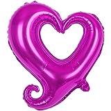 18インチのウェディングデコレーションハートの花婿の花束の風船のウェディングパーティーローデ レッド