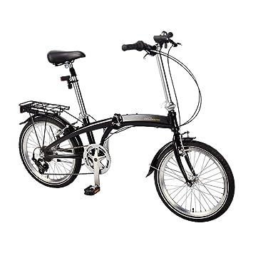 De aluminio bicicleta plegable 20 pulgadas Piñón de 7 velocidades Shimano de Bicicleta plegable para bicicleta