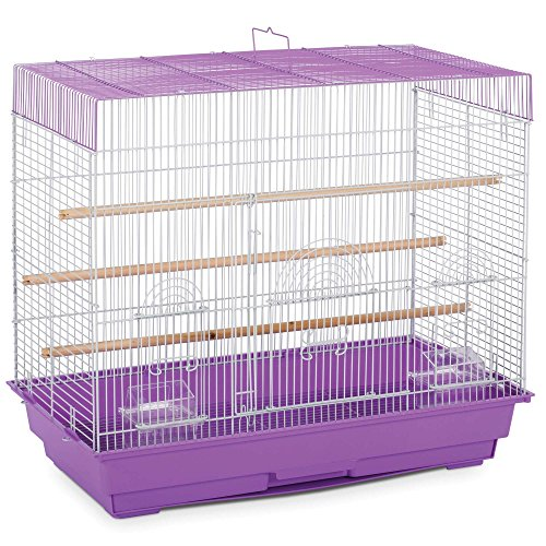 Prevue Pet Products SP1804-3 Flight Cage, Lilac/White